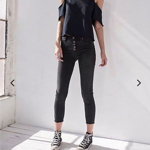 Free people button up skinny